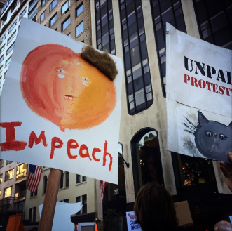 impeach-trump-pumpkin-sign